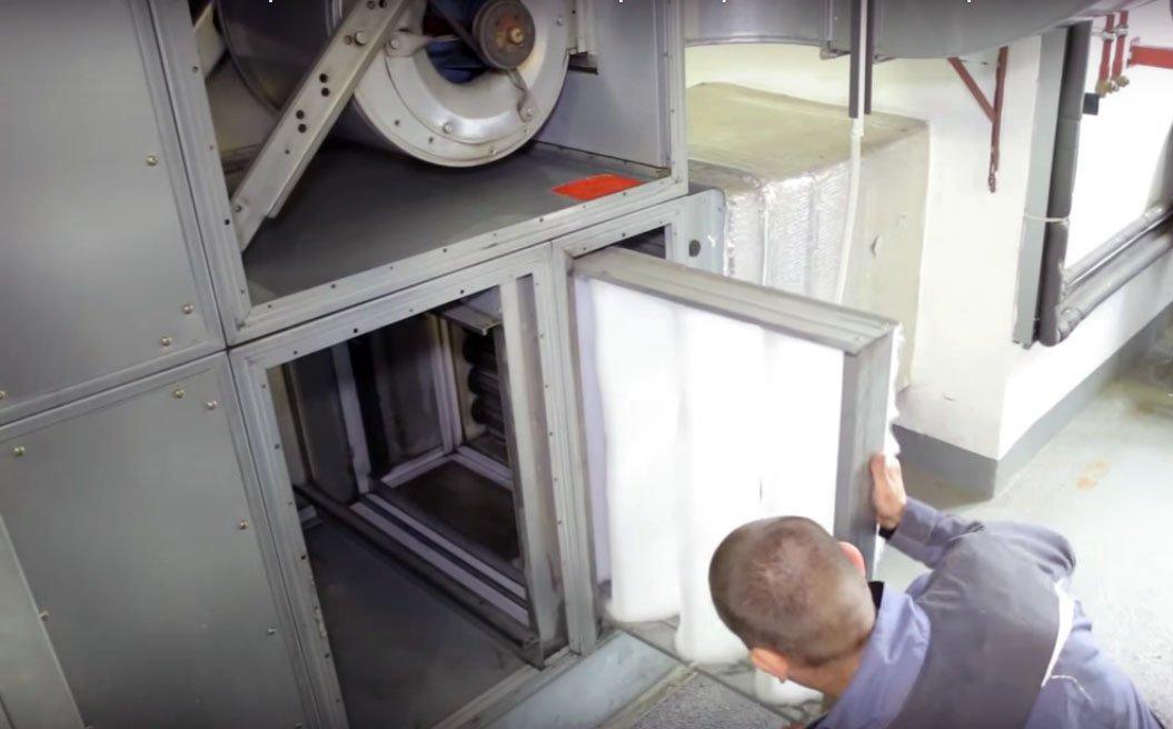 Обслуживание и ремонт вентиляции