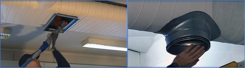 Очистка жировых отложений в вентиляции