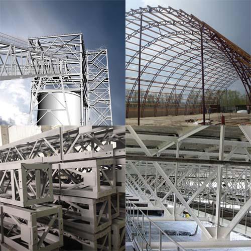 Промышленные конструкции из металла в Москве