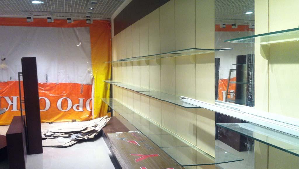 Заказать ремонт магазинов под ключ в Москве